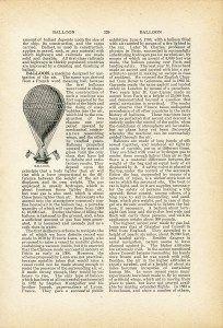 balloon clip art, hot air balloon, junk journal printable, black and white graphics, steampunk clip art