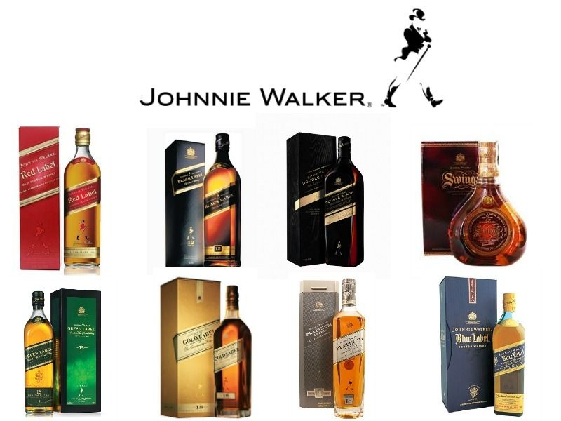 Johnnie Walker Gift Set With Glasses 2021
