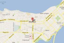Madison Google Map