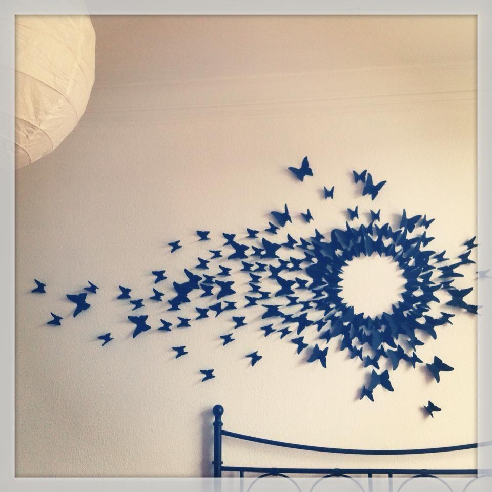 Schmetterlinge An Der Wand Wie In Serenas Zimmer Bei Gossip Girl