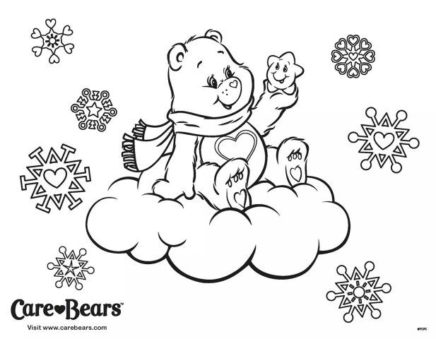 Winter Coloring Page Kids Coloring Books Cool Coloring Pages