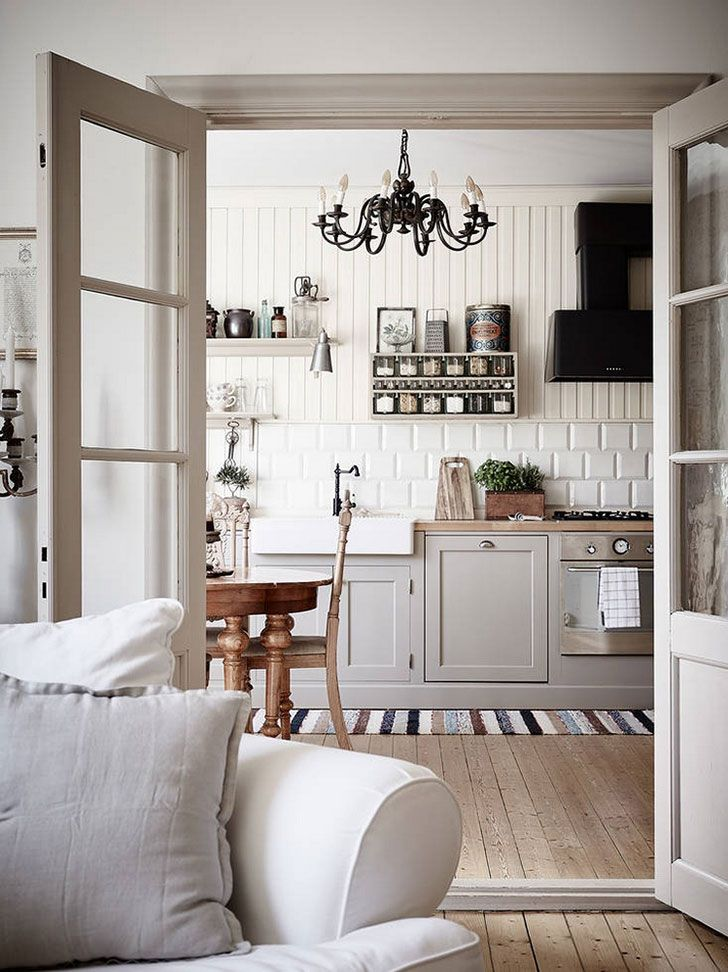 Vintazhnyj Skandinavskij Interer Foto Idei Dizajn Home Interior Vintage Interior Design