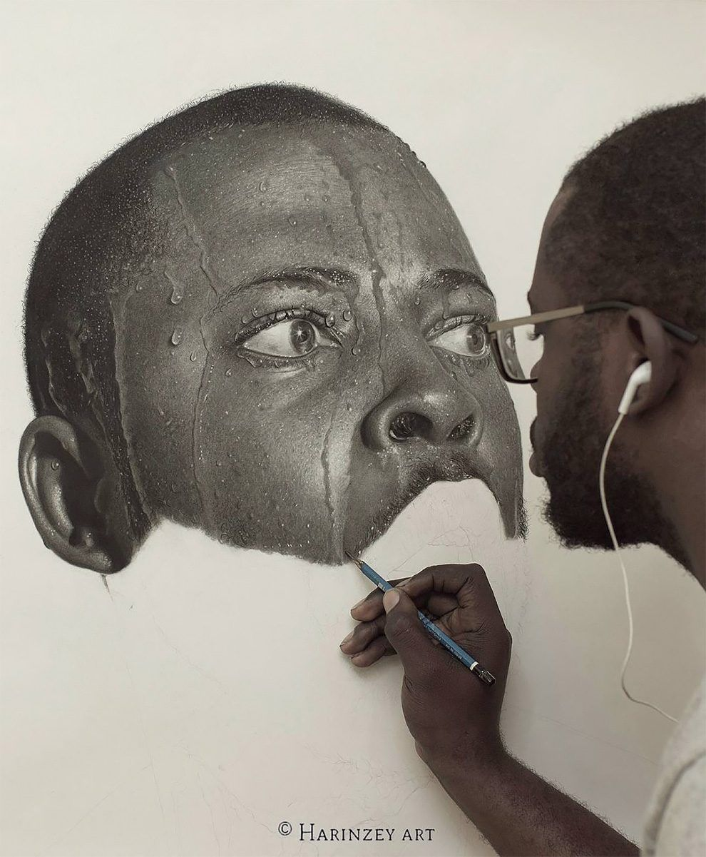 Large Pencil Drawings