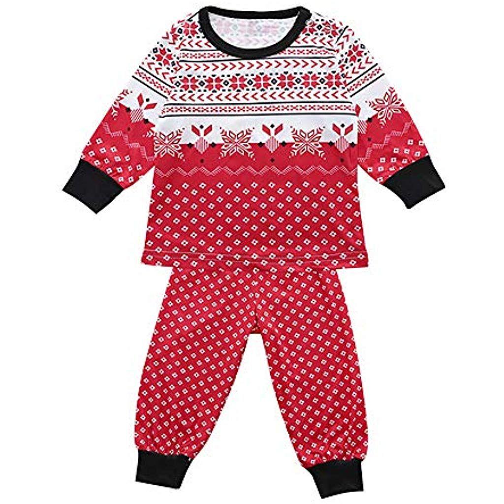 Jimmackey Pigiama Pigiami Natale Famiglia Pigiami Donna Pigiama Uomo Pigiama Bambina Invernali Natale Famiglia Pigiami da Notte Pigiami Natale Famiglia Donne Uomini Bambini