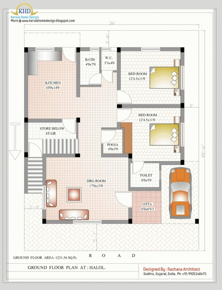 Duplex House Plans India 900 Sq Ft Archives Jnnsysy 1200sq Ft House Plans 2bhk House Plan Indian House Plans