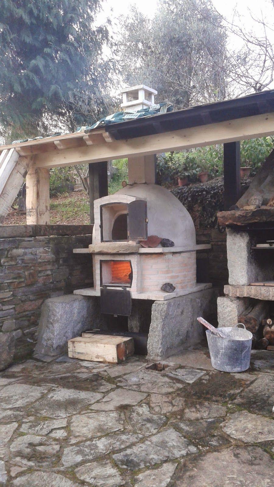 Presentamos horno de barro con calor envolvente de metro de