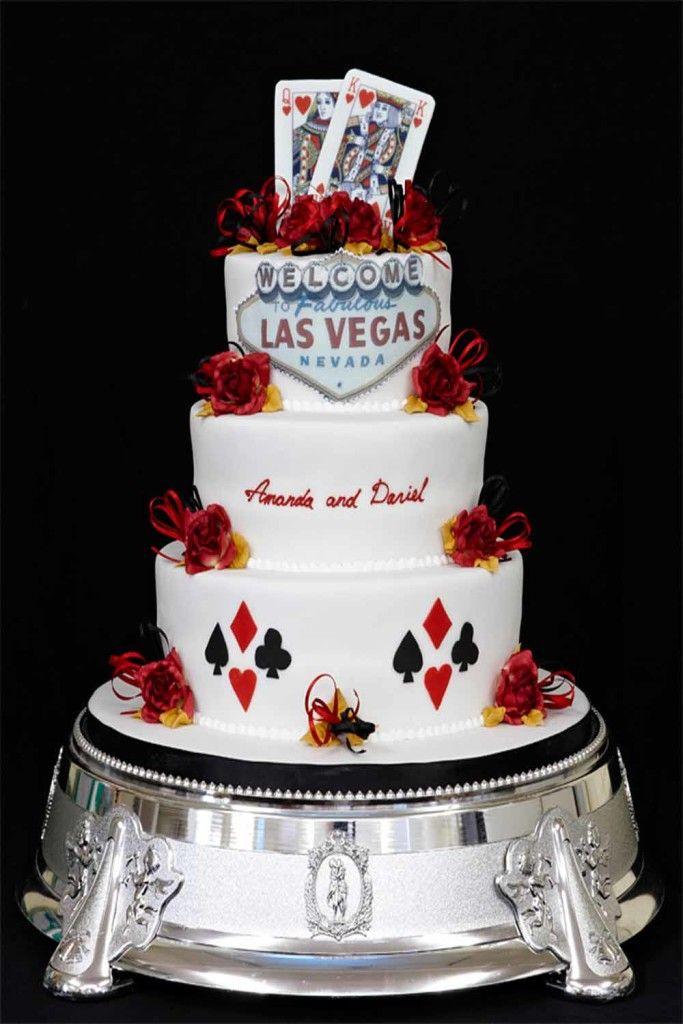 Las Vegas Wedding Cake Wedding Cakes Pinterest Las vegas