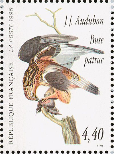 Rough-legged Buzzard stamps - mainly images - gallery format