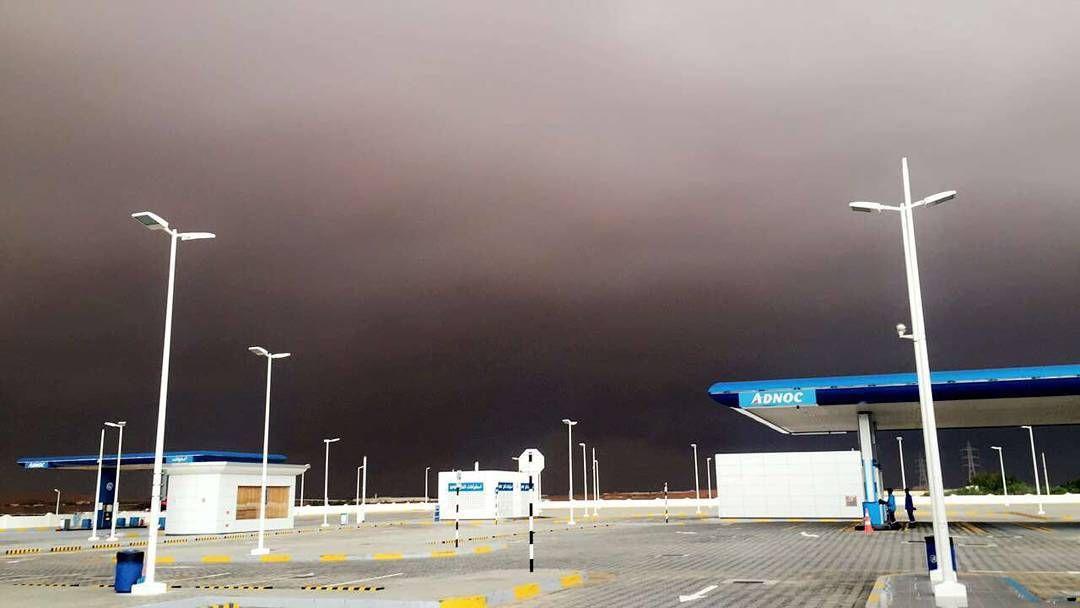 شبكة أجواء الإمارات السحابة الخضراء على طريق دبي العين بالقرب من الفوعة من الزميل بوروضة رابطة أجواء الخليج Instagram Photo Instagram Posts