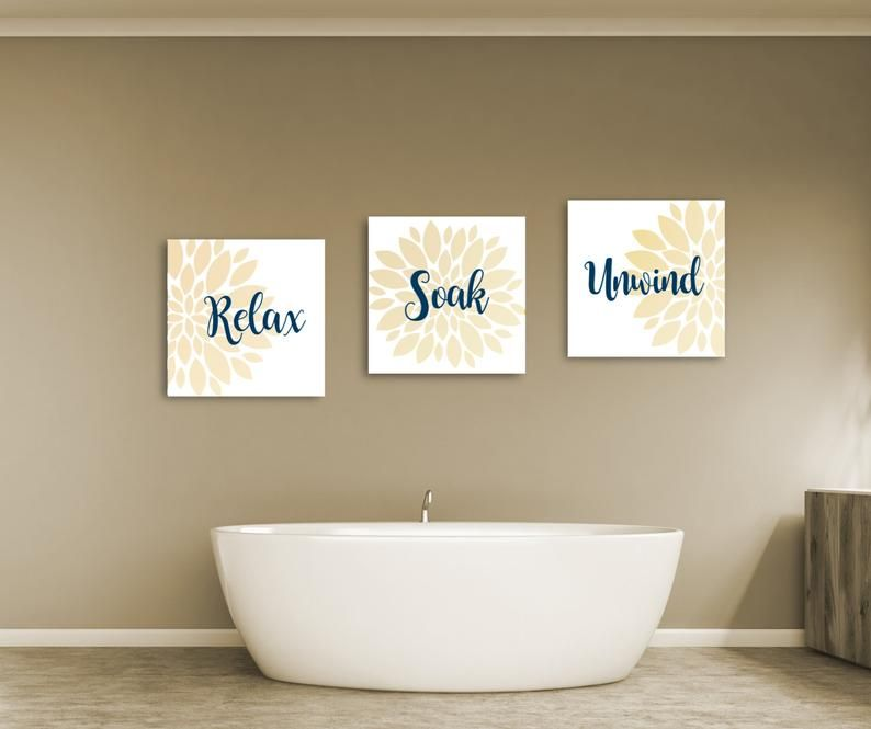 Bathroom Decor Bathroom Wall Art Relax Soak And Unwind Relax Wall Decor Bathroom Art Print In 2020 Bathroom Wall Art Bathroom Decor Bathroom Art
