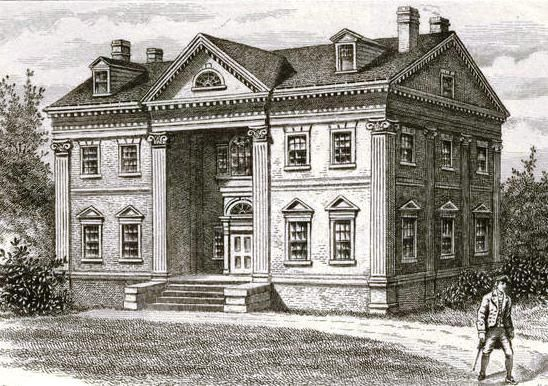 Apthorp Mansion, 1790  Columbus Ave and 91st St