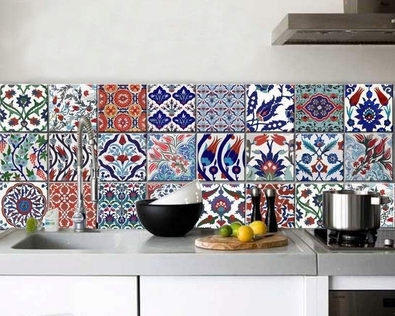 1000 images about carrelages on pinterest design murals and tile - Faience Multicolore Cuisine