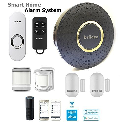Briidea M02 Wireless Smart Home Security Alarm System Diy Kit Wi Fi Works Wit Wireless Home Security Systems Wireless Home Security Security Cameras For Home