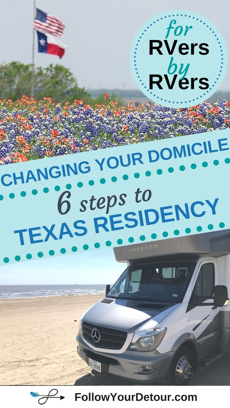Changing Your Domicile A 6 Step Guide for Achieving Texas
