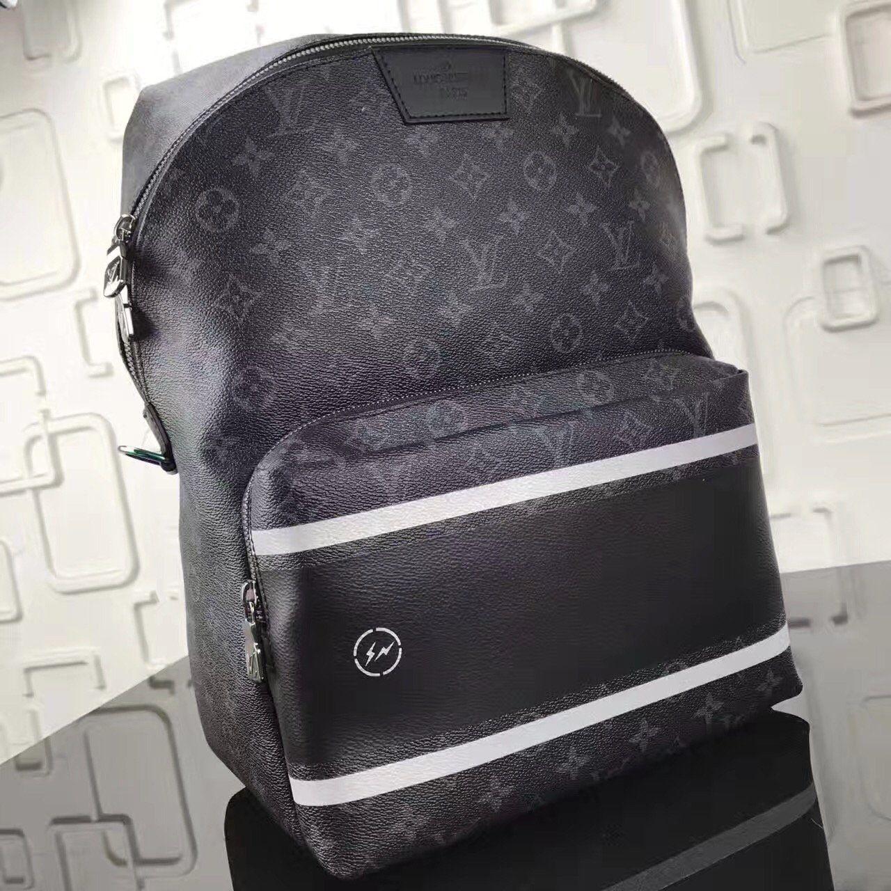 d722bbbce37 Louis Vuitton x Fragment Apollo Backpack Monogram Eclipse Black ...