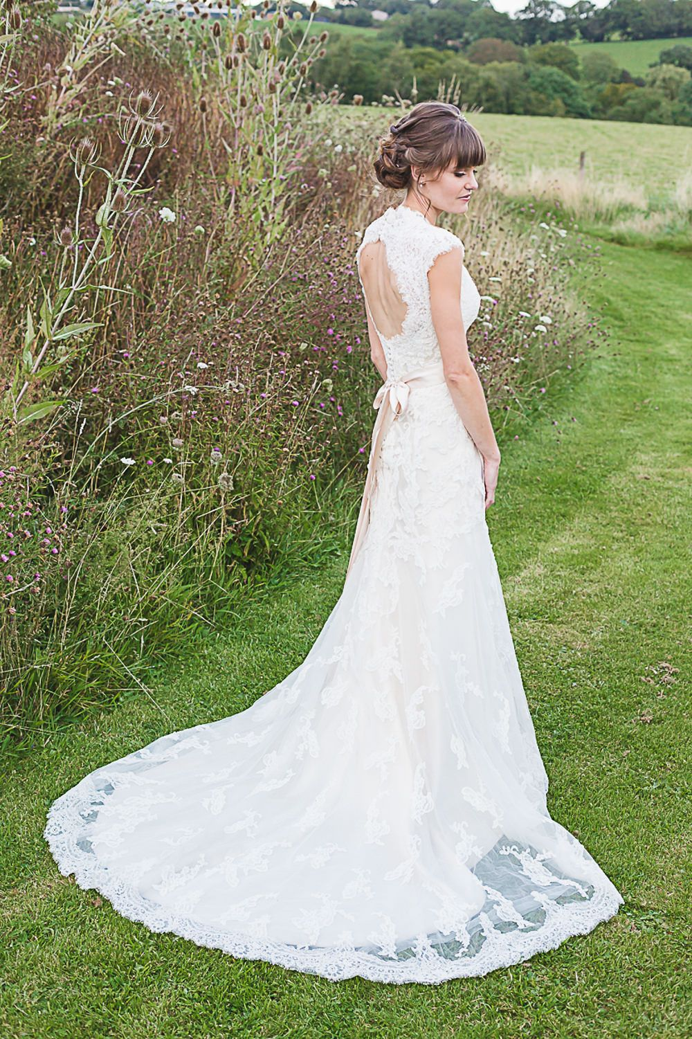 Maggie Sottero Lace Bronwyn Gown Rachel Simpson Mimosa Bridal Shoes For A Rustic Wedding At The Barn At Brynich In Wales Wedding Dresses Bridal Gowns Maggie Sottero Lace [ 1501 x 1000 Pixel ]
