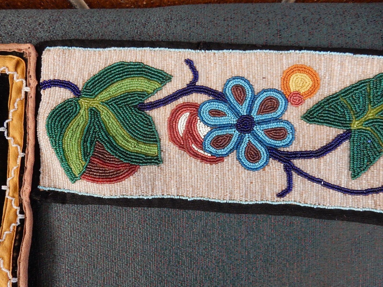 Great Lakes Bandolier Bag Native American Chippewa