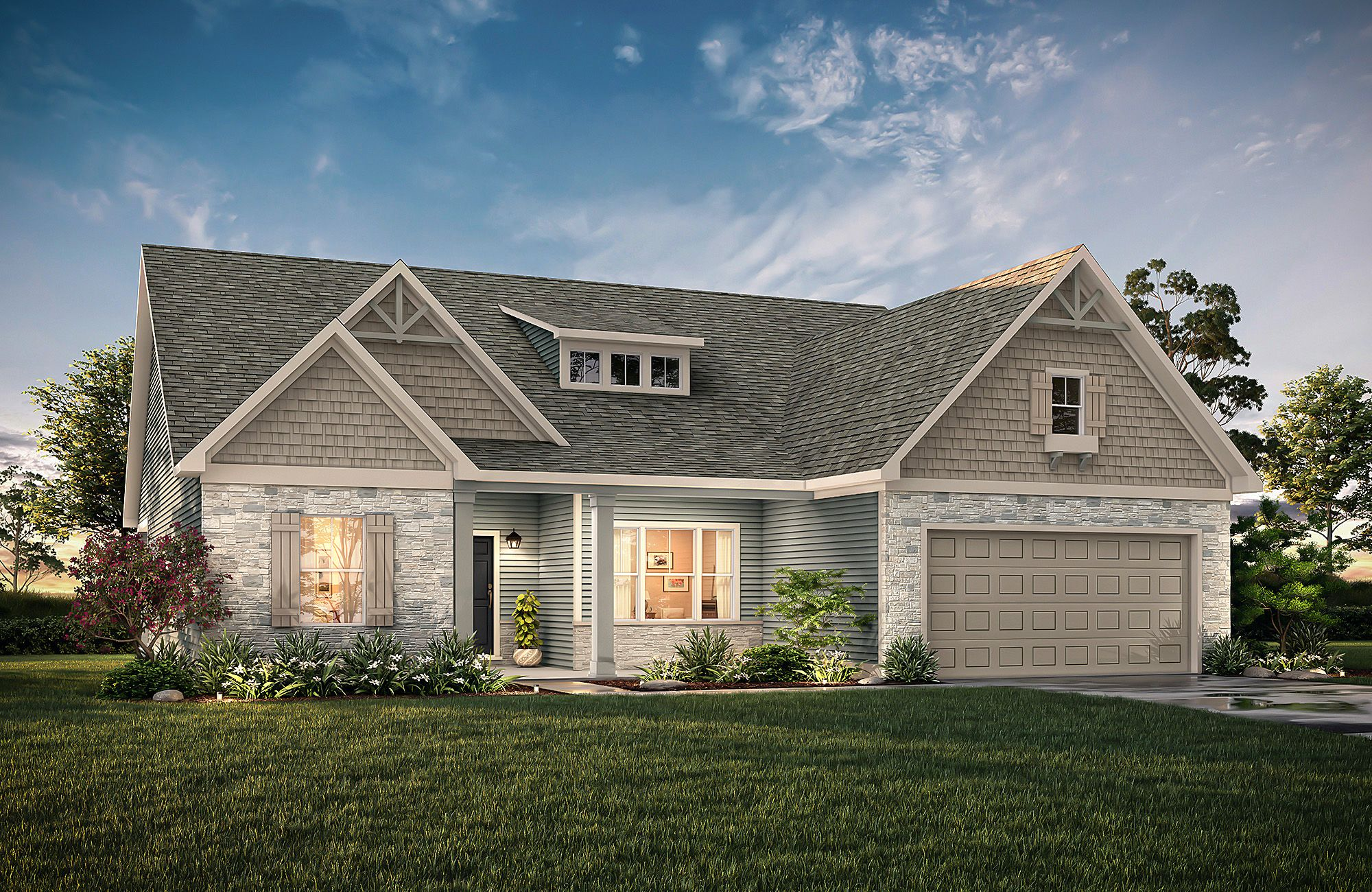 Broadway R B3 True Homes House Styles House Elevation