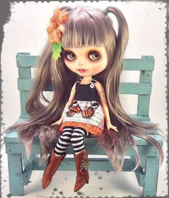 OOAK Blythe Cybele CustomBlythe doll by SweetCrate por SweetCrate