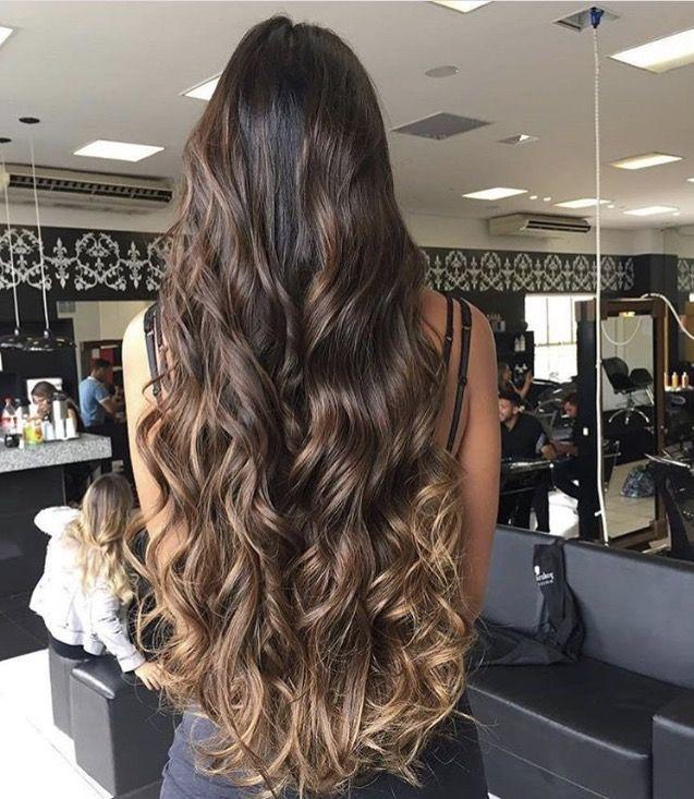 Balayage cabello ondulado