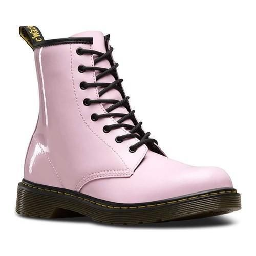 Children's Dr. Martens Delaney Eye Side Zip Boot - Youth Baby Patent Lamper  | Dr. Martens | Pinterest | Side zip boots, Youth and Zip