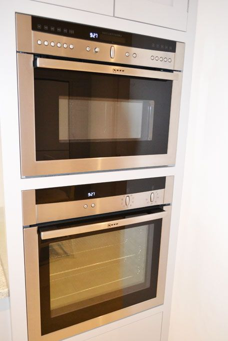 Neff slide and hide oven and built in microwave | Get Decked