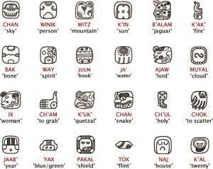 Comanche Language Tattoos Mayan Symbols Mayan Glyphs
