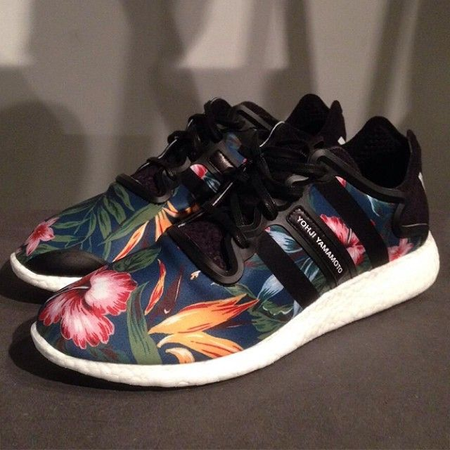 c42ed0b7e Hawaiian Floral on this SS15 Adidas Y3 Yohji Boost Get more info on  Sneakernews.com