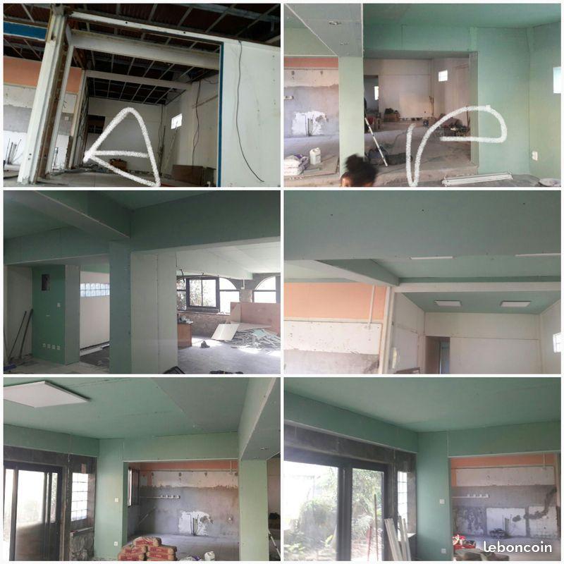 Pour Tout Vos Renovation Magasin Et Maison Cloisons Et Tout Type De Plafond Cloison Maison Plafond