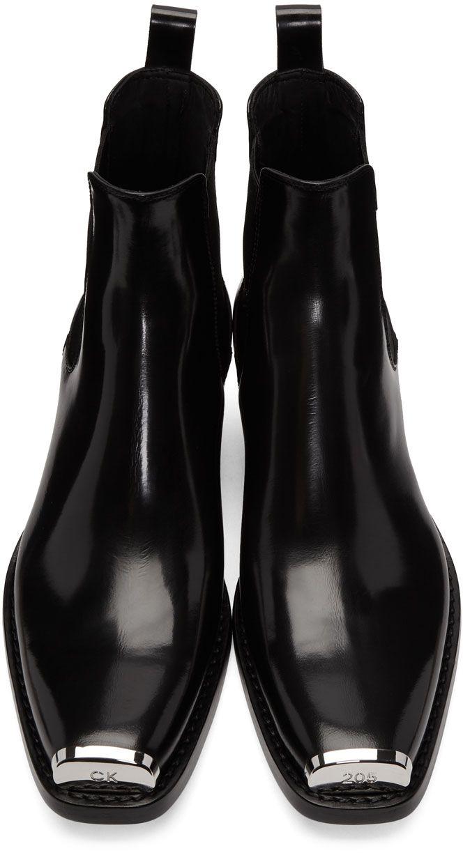 100% di soddisfazione ineguagliabile nuovo elenco Calvin Klein 205W39NYC - Black Western Chris Boots   Vestiti ...