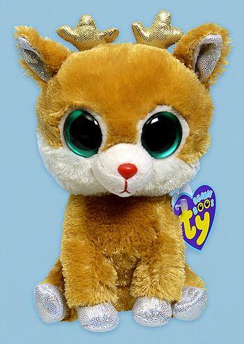 d7a5b0eaf05 Alpine - reindeer - Ty Beanie Boos Birthday  December 21