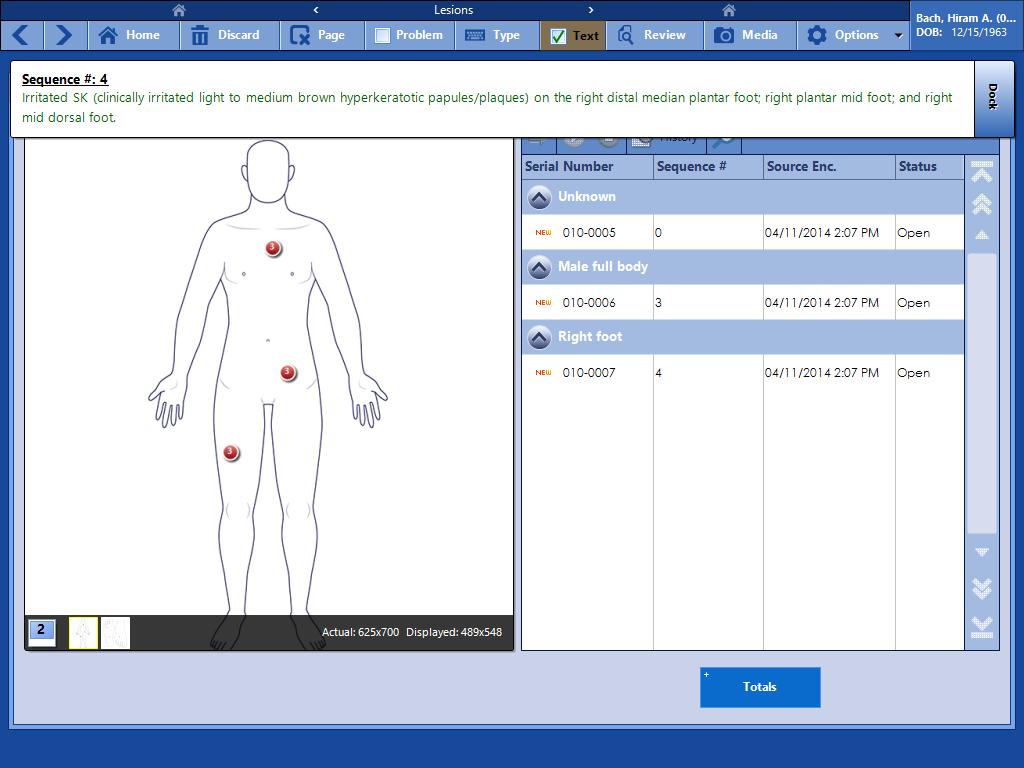 Practicestudio Chiropractic Ehr Treatment Form Screens  Chiro