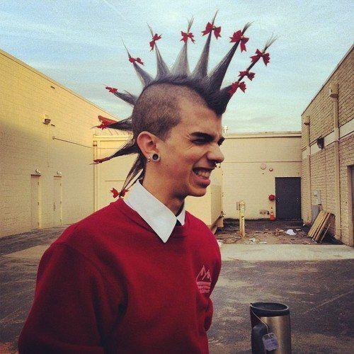 Pin By Mr Bob Mr Bob On Punk Rock Hair Punk Outfits Punk Rock Outfits Punk Boy