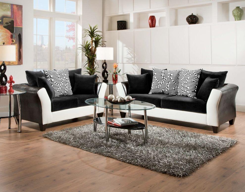 Delightful Come Check Out Our NEW Black U0026 White Avanti Living Room Set!    Http://abfjacksonvillenc.com/come Check New Black White Avanti Living Room  Set/