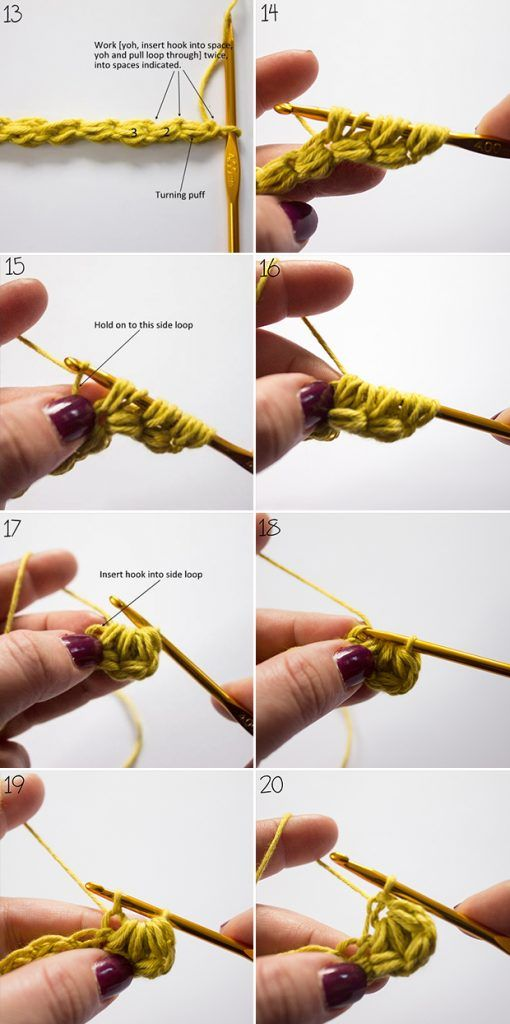 jasmine stitch cushion on the LoveCrochet blog | örgü | Pinterest ...