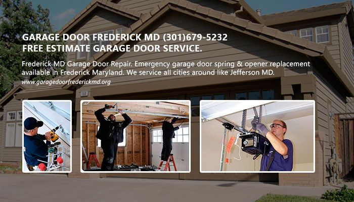 Frederick Md Garage Door Repair Emergency Garage Door Spring Opener Replacement Available In Frederick Maryland We Service All Cities Around Like Jeff Reklam