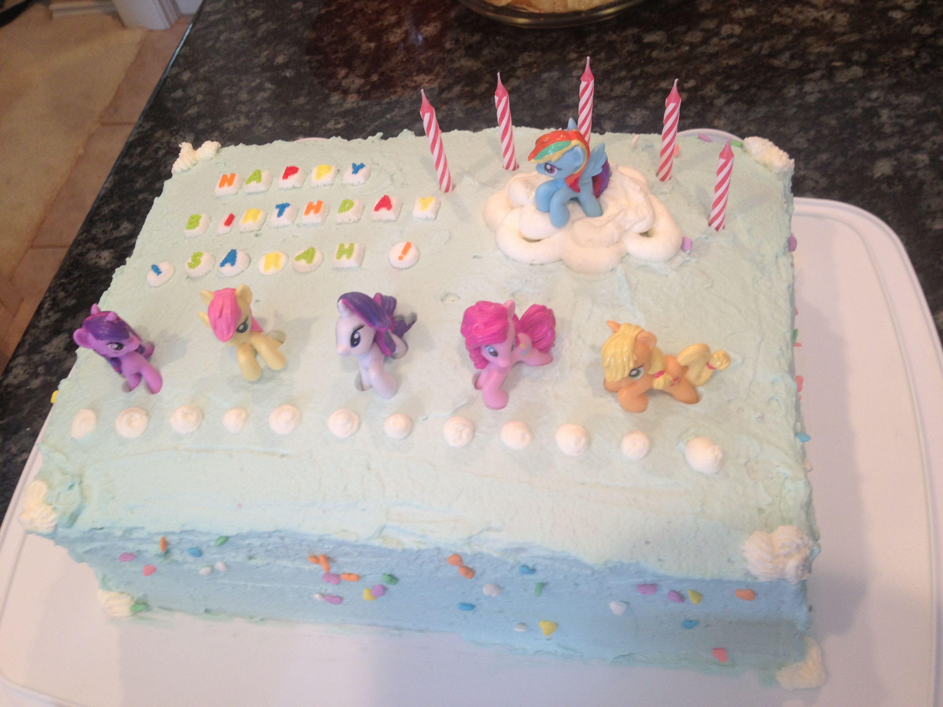My Little Pony Birthday Cake By Uma Cake Cookies In 2018
