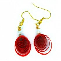 Red Spring Buy now at low price http://www.ramanamam.com/ohooshopping/fashion-earrings-?product_id=73