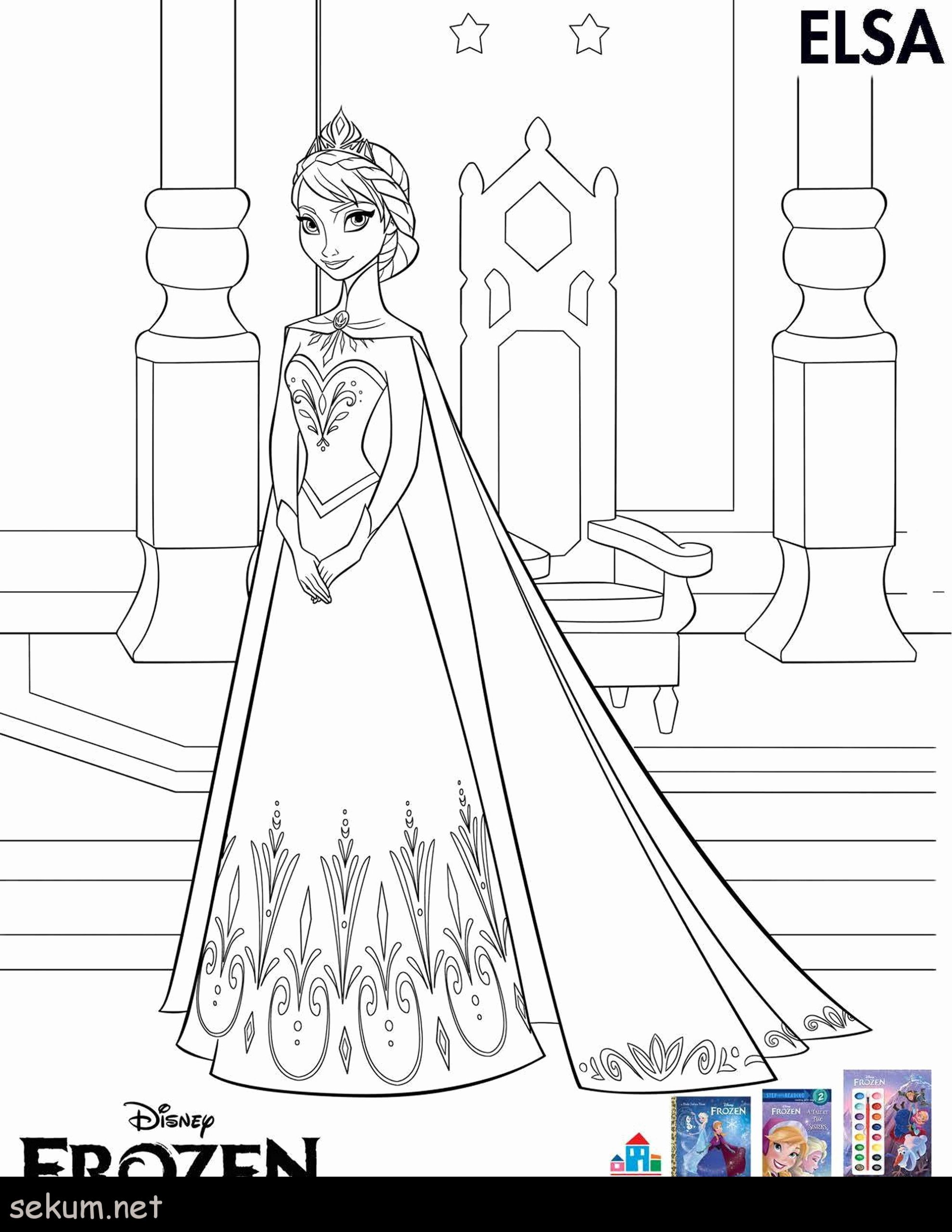 Frozen Coloring Pages Free Inspirational Coloring Book Elsa Frozen Coloring Pages To Print Free Pdf In 2020 Elsa Coloring Pages Frozen Coloring Pages Elsa Coloring
