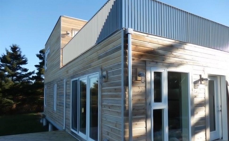 Gallery thor 960 nova scotia canada meka world tiny homes pinterest more thor ideas - Shipping container homes canada ...