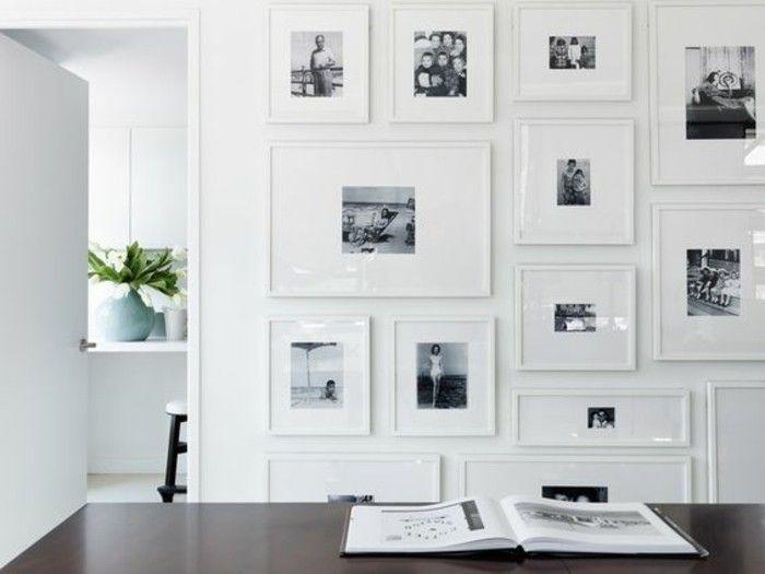 15-fotocollage-selber-machen-schwarz-weise-fotos-weise-bilderrahmen-pflanze