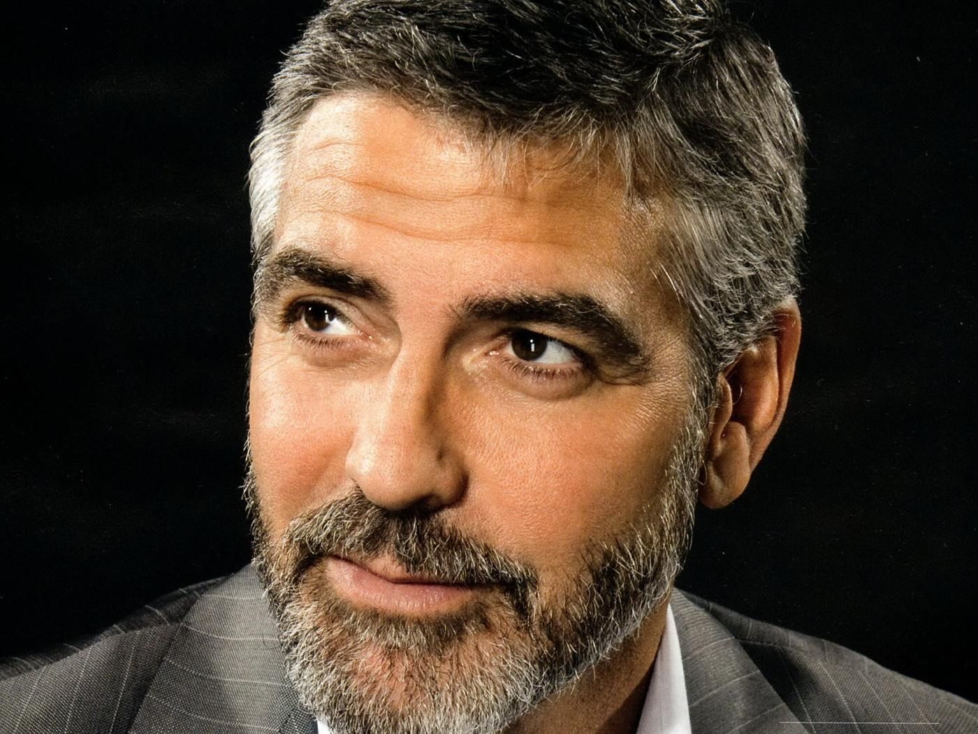 Beard Design Ideas facial hair and beard styles gallery 5 George Clooney Signature Simple Haircuts And Grey Beard