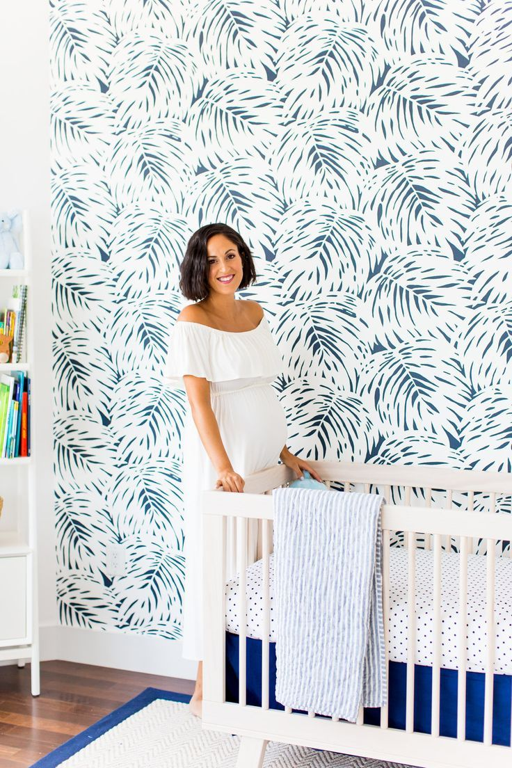 our palm zen nursery reveal Whimsical nursery, Palm