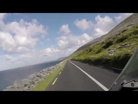 West Ireland Cliffs Of Moher Bmw G650gs Youtube Motos
