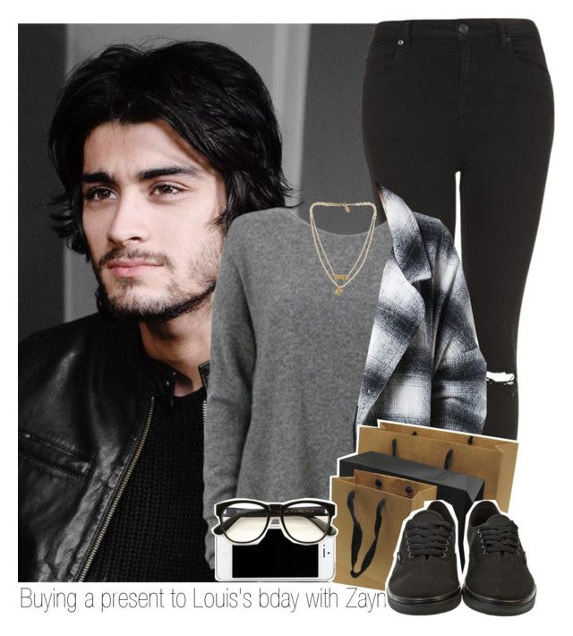 """Buying a present to Louis's bday with Zayn"" by ninnha ❤ liked on Polyvore featuring Topshop, Bee Charming, Vans, Wildfox, women's clothing, women, female, woman, misses and juniors"