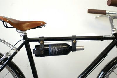 wine & biking...yes please! This site has awesome bike accessories!