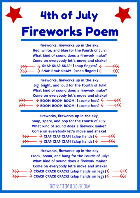 4th Of July Poems 2