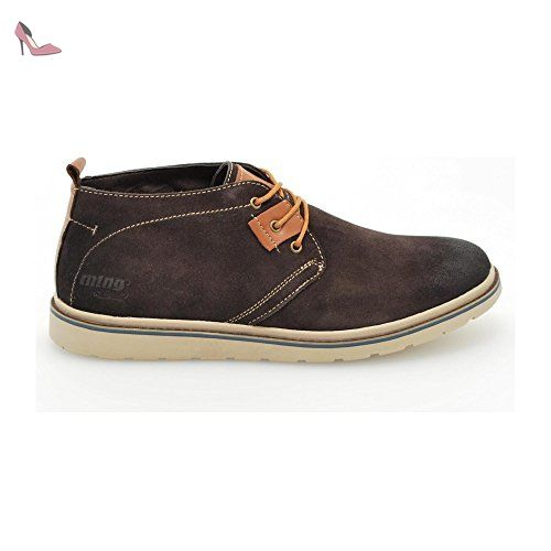 44 Partner BROWN BOTTINES Marron Link mtng MUSTANG Chaussures qaEaHpOYw