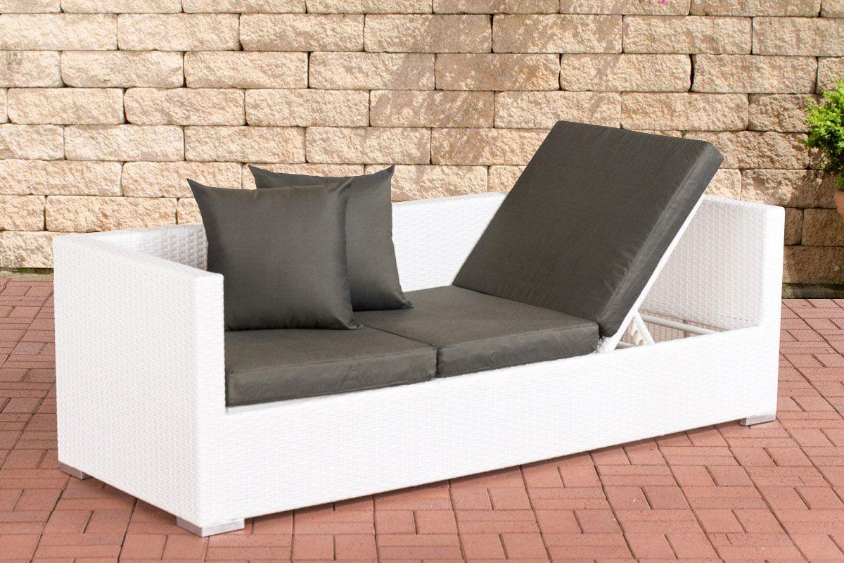 Lounge Sofa Solano Weiss Anthrazit Jetzt Bestellen Unter Https Moebel Ladendirekt De Garten Gartenmoebel Loungemoebel Garten U Gartensofa Lounge Gartenmobel