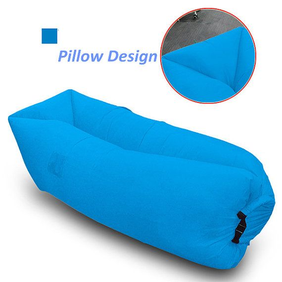 Inflatable Air Lounger Outdoor Sofa Couch Portable By Carrielife